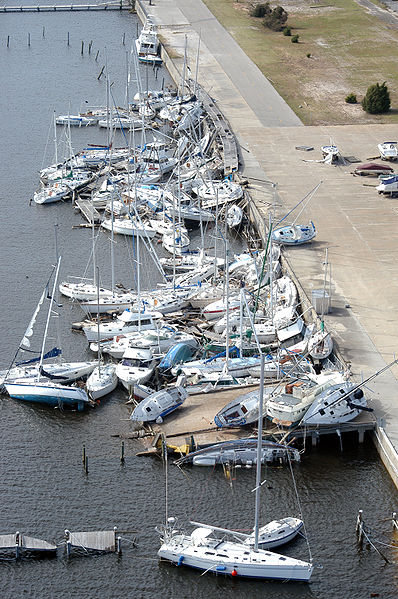 Bayou Grande Marina After Ivan